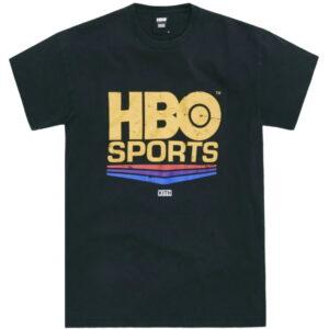HBO Sports x Kith Vintage Tee Black 1