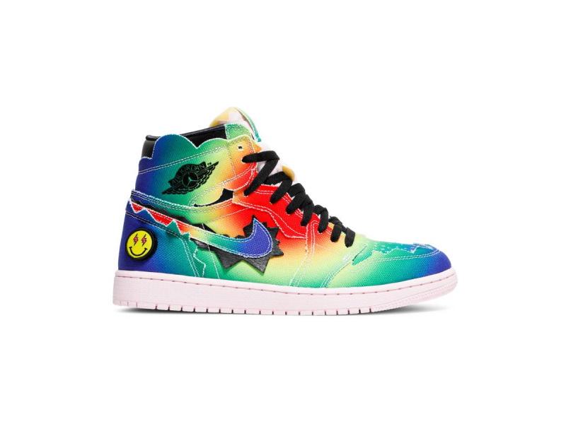 J. Balvin x Air Jordan 1 Retro OG High Colores Y Vibras
