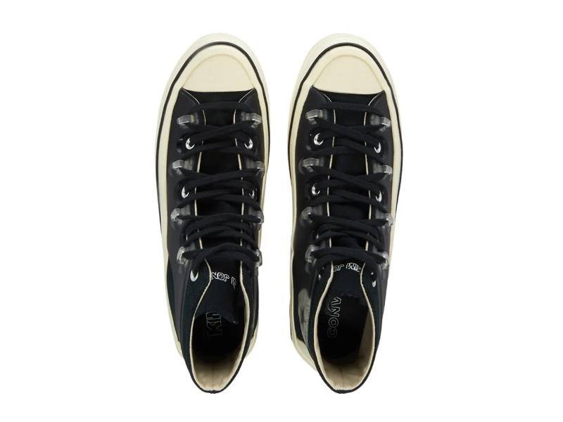 Kim Jones x Converse Chuck 70 High Black 3
