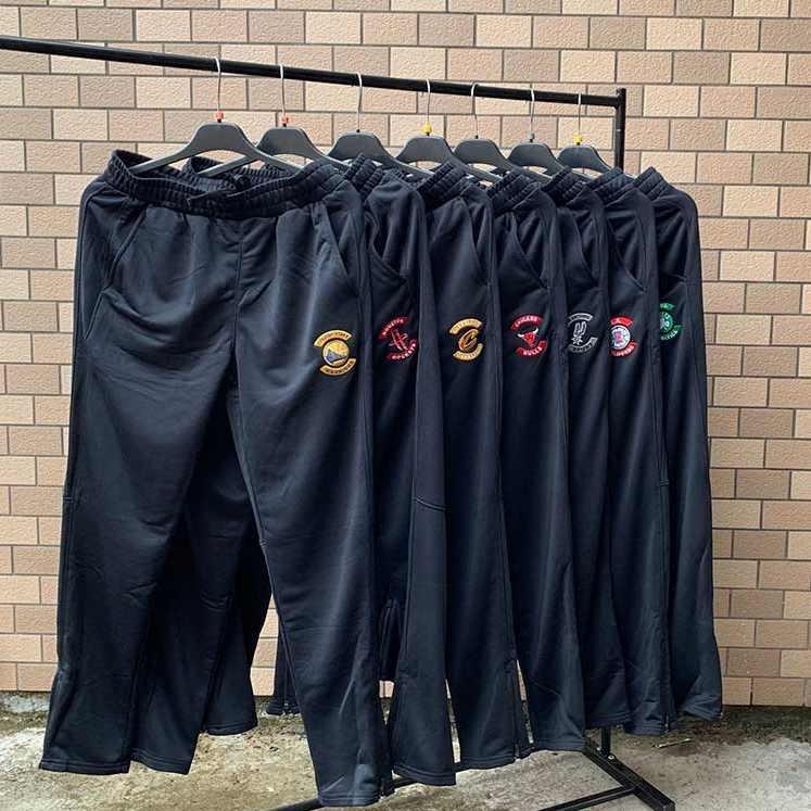 NBA Teams Black Sweatpants 1