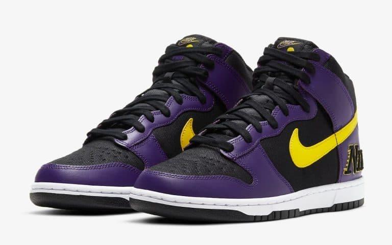 Nike Dunk High EMB Lakers vyshli 29 aprelya 1