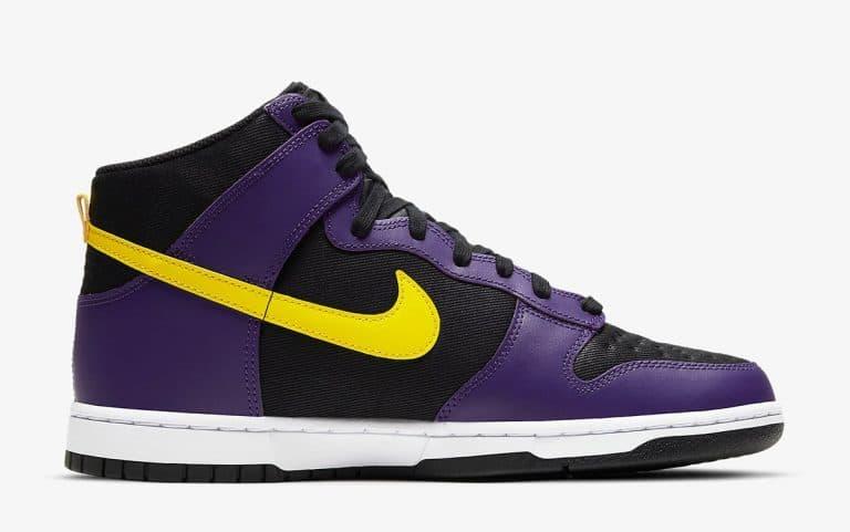 Nike Dunk High EMB Lakers vyshli 29 aprelya 3