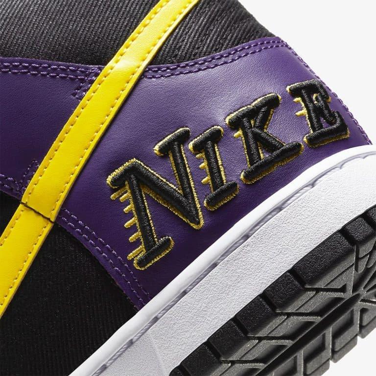 Nike Dunk High EMB Lakers vyshli 29 aprelya 7