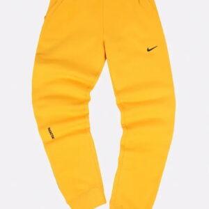 Nike x Drake NOCTA Fleece Pants Yellow 1