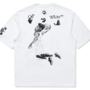 OFF WHITE x Jordan T Shirt White 2