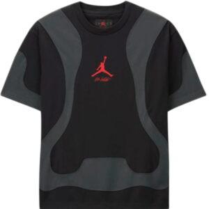 OFF WHITE x Jordan Tee Black 1