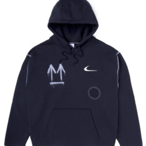 OFF WHITE x Nike Hoodie Black 1