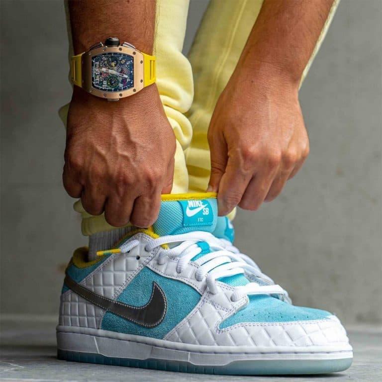 Pervye foto kollaboratsii FTC x Nike SB Dunk Low 2