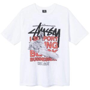 Stussy x Virgil Abloh World Tour Collection T Shirt White 1