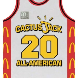 Travis Scott Crew Basketball Unifrom Cactus Jack 1