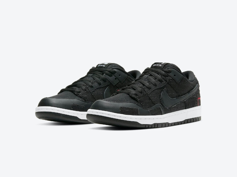 Wasted Youth x Nike Dunk Low SB Black Denim Special Box 1