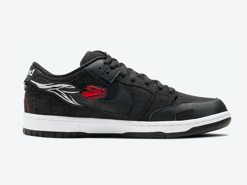 Wasted Youth x Nike Dunk Low SB Black Denim Special Box 2