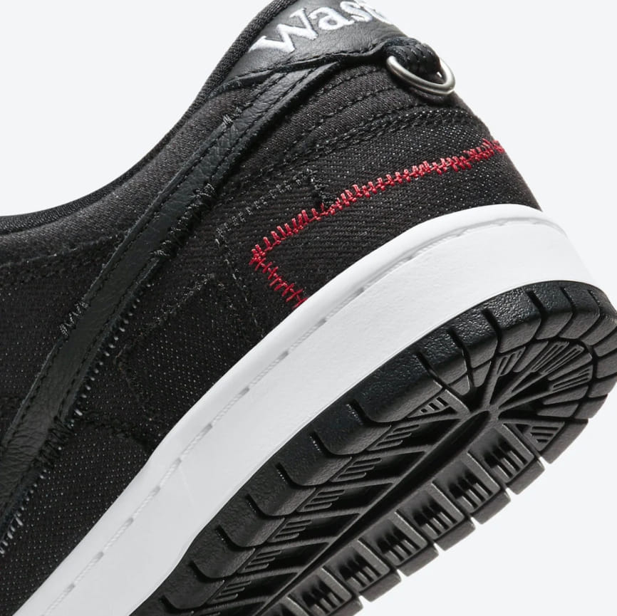 Wasted Youth x Nike Dunk Low SB Black Denim Special Box 7