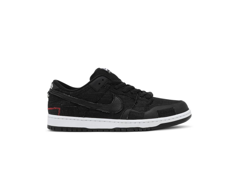 Wasted Youth x Nike Dunk Low SB Black Denim Special Box