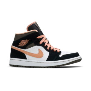 Wmns Air Jordan 1 Mid SE Peach Mocha