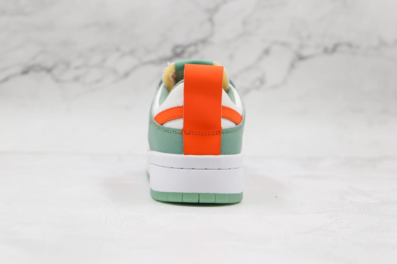 Wmns Nike Dunk Low Disrupt Sea Glass Crimson 4