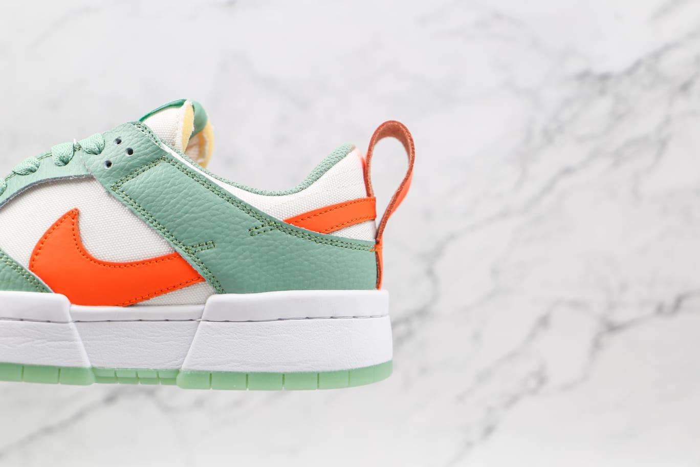 Wmns Nike Dunk Low Disrupt Sea Glass Crimson 6