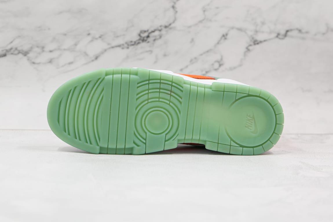 Wmns Nike Dunk Low Disrupt Sea Glass Crimson 7