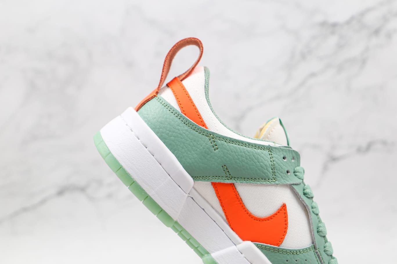 Wmns Nike Dunk Low Disrupt Sea Glass Crimson 9