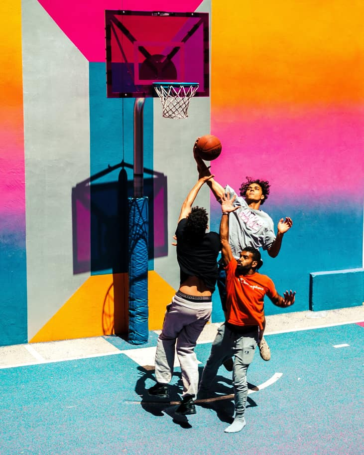 YArkie postupki basketbolistov