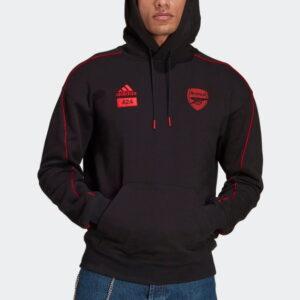 adidas x Arsenal x 424 Hoodie Black 2