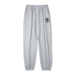 2020 Charm Hip hop Style Sweatpants Grey 1