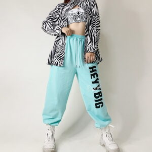 2020 Long Sleeve Oversize Shirt Zebra 2
