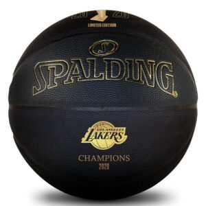 2020 NBA Los Angeles Lakers Champions Ball Limited Edition Black 2