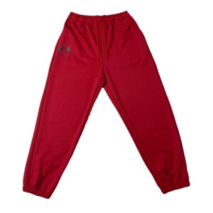 2020 Smile Hip hop Style Sweatpants Red 1