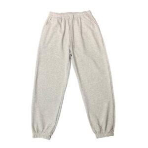 2021 Hip hop Style Sweatpants Monochromatic Grey 1