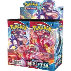 2021 Pokemon TCG Sword Shield Battle Styles Booster Box 1