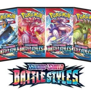 2021 Pokemon TCG Sword Shield Battle Styles Booster Box 2