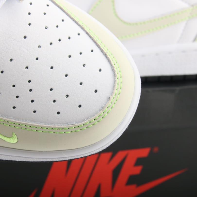 Air Jordan 1 Low OG Ghost Green 4