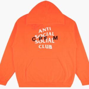 Anti Social Social Club x CPFM Hoodie Orange 1