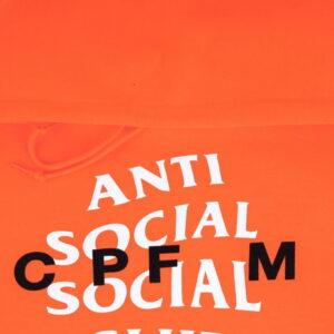 Anti Social Social Club x CPFM Hoodie Orange 2