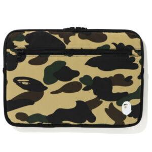 BAPE 1st Camo PC Case 13in Yellow 1