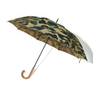 BAPE 1st Camo Umbrella Green 1