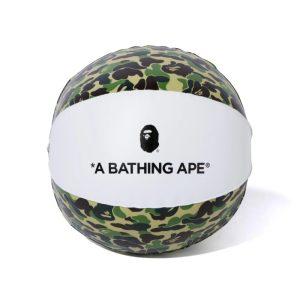 BAPE ABC Beach Ball Green 1