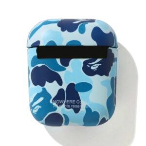 BAPE ABC Camo Airpods Case Blue 2