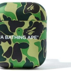 BAPE ABC Camo Airpods Case Green 1
