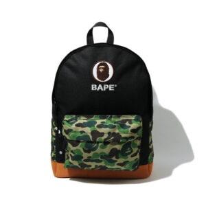 BAPE ABC Camo Ape Head Daypack Green 1