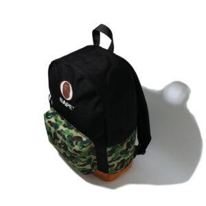 BAPE ABC Camo Ape Head Daypack Green 2