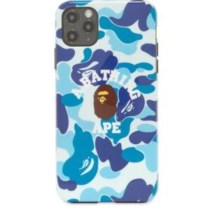 BAPE ABC Camo College iPhone 11 Pro Max Case Blue 1