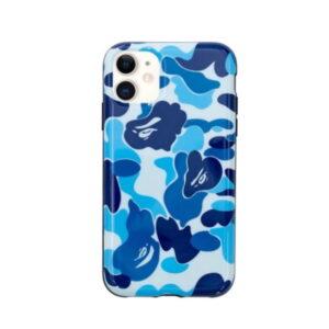 BAPE ABC Camo iPhone 11 Case Blue 1
