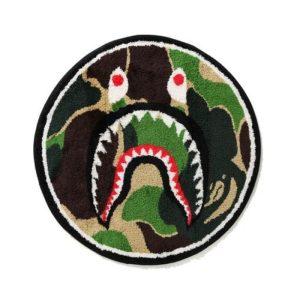 BAPE ABC Shark Rug Green 1