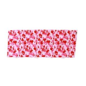 BAPE ABC Sport Towel Pink 1