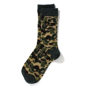 BAPE Abc Jacquard Socks Socks Green 1