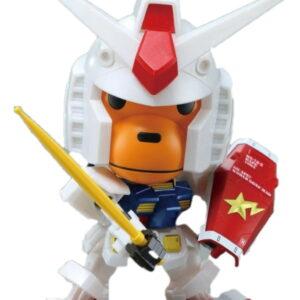 BAPE Baby Milo RX 78 2 Gundam Toy White 1