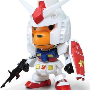 BAPE Baby Milo RX 78 2 Gundam Toy White 2