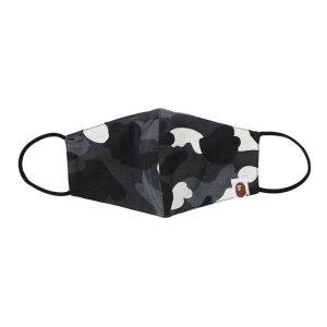 BAPE City Camo Mask Black 1